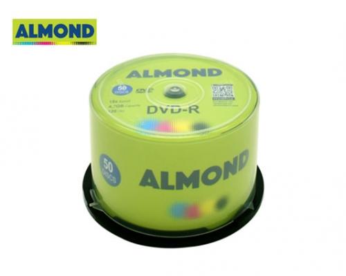 ALMOND DVD-R 4,7GB 16X 50 τεμ. CΑΚΕΒΟΧ