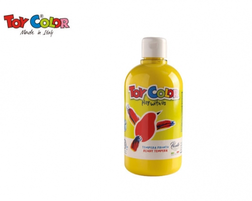 TOY COLOR ΤΕΜΠΕΡΑ 500ml SUPERWASHABLE YELLOW