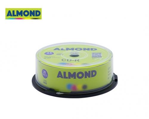 ALMOND CD-R 700MB 52X 25 τεμ. CB