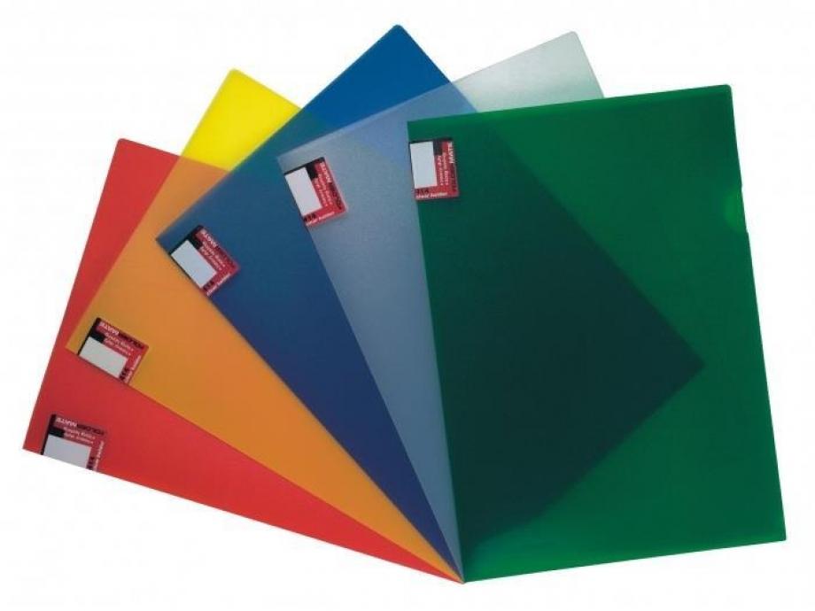 Ζελατίνα Foldermate L 414 σκληρή πράσινη