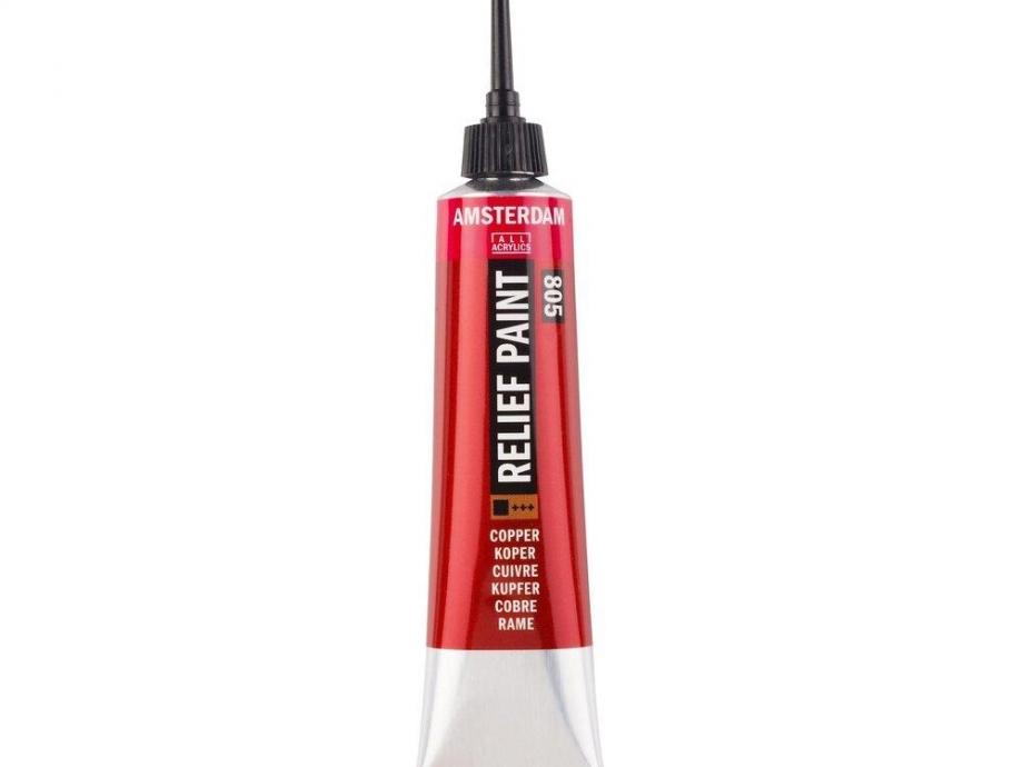 Περίγραμμα Relief Amsterdam 20 ml 805 χάλκινο