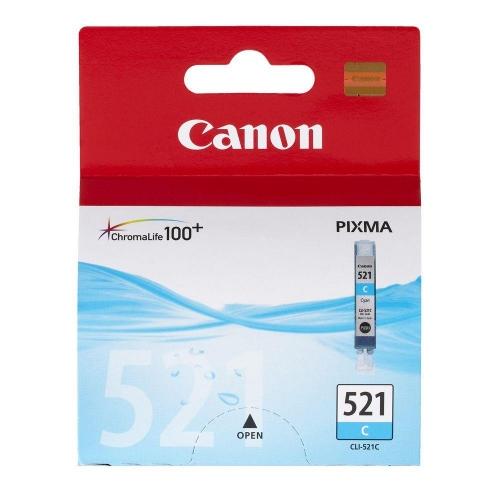 Μελάνι Canon CLI-521 cyan