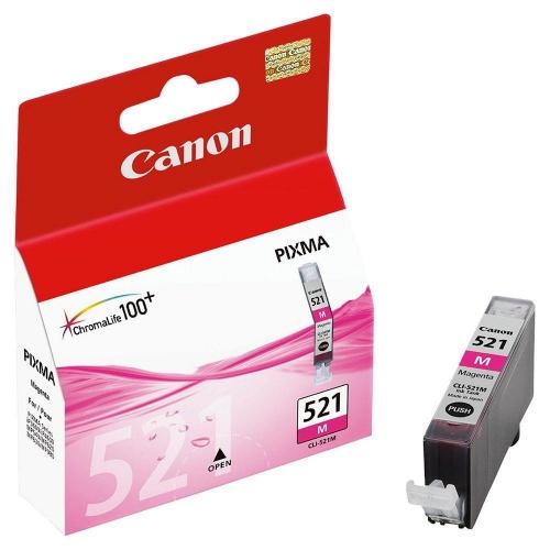 Μελάνι Canon CLI-521 magenta