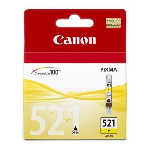Μελάνι Canon CLI-521 yellow