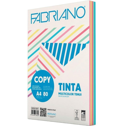 Χαρτί Α4 Fabriano 80gr 250φ μιξ παλ
