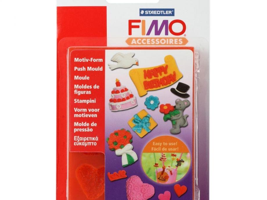 Καλούπι πηλού Fimo 872504 happy birthday