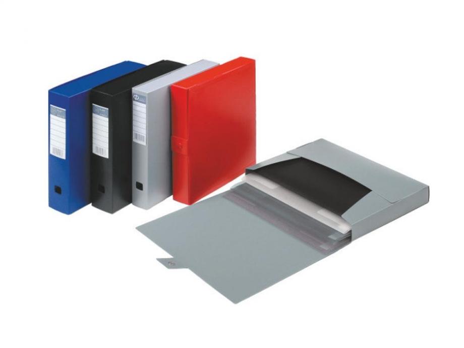 Κουτί πλαστικό Φplast κουμπί 7 cm μαύρο