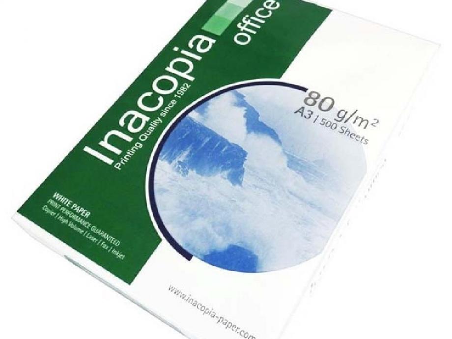 Χαρτί Α3 Inacopia 80gr 500φ λευκό