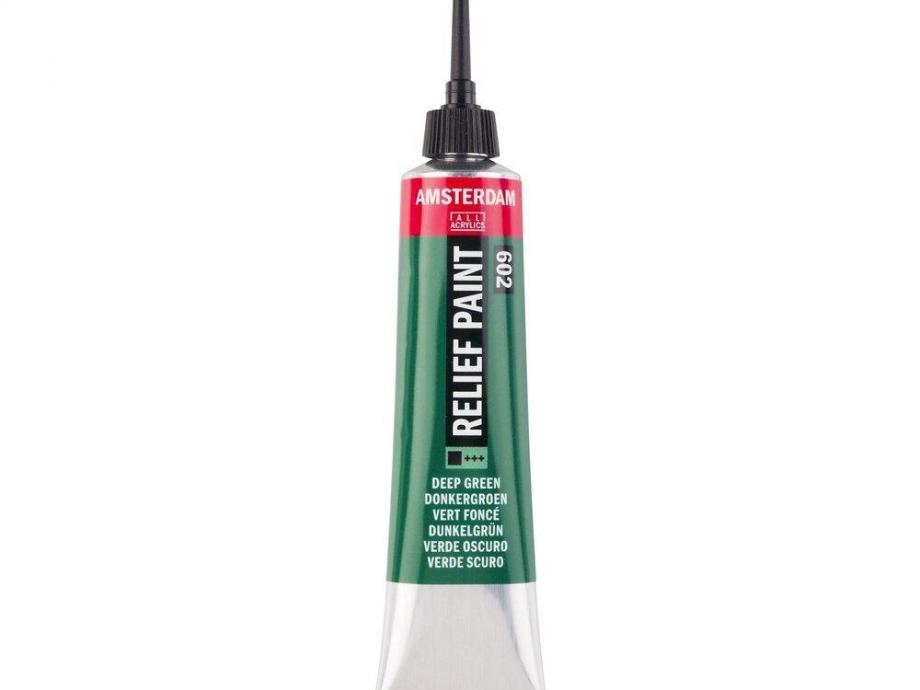 Περίγραμμα Relief Amsterdam 20 ml 602 πράσινο
