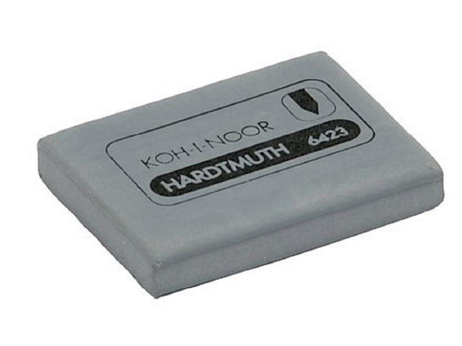 Γόμα Kohinoor κάρβουνο γκρι 6423