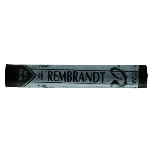 Soft pastels Rembrandt τεμάχιο μαύροTalens