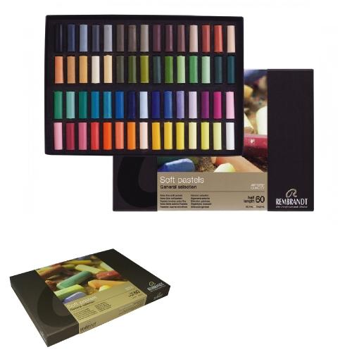 Soft pastels Rembrandt 60 half Talens 300C60.5