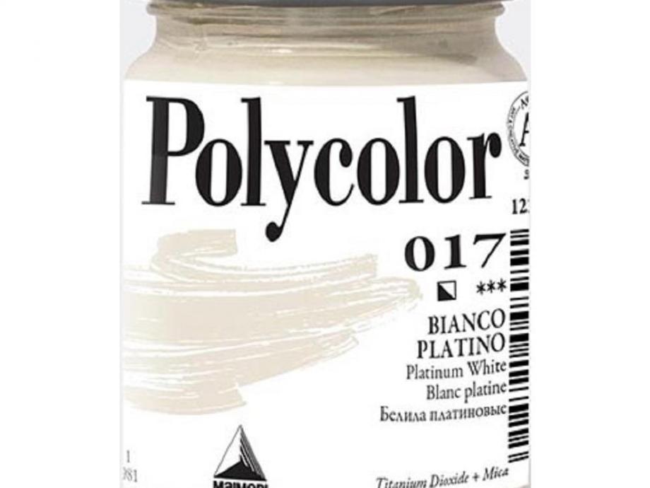 Ακρυλικό Maimeri Polycolor 140 ml 017 white platinum