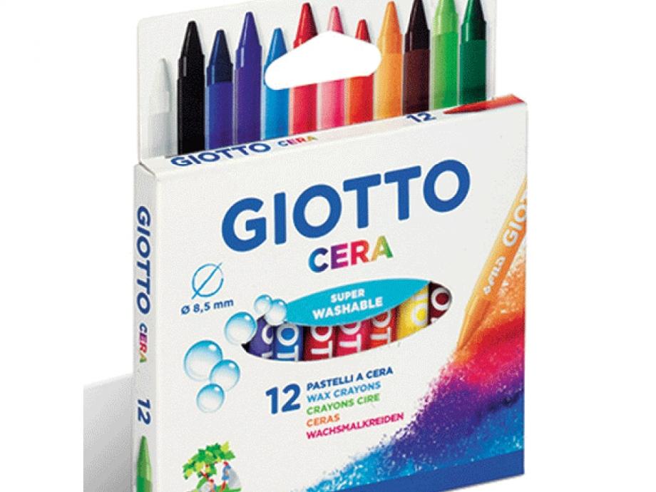 Κηρομπογιές Giotto cera 12 τεμ