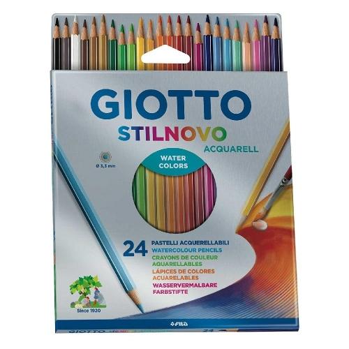 Ξυλομπογιές ακουαρέλας Giotto Stilnovo 24 τεμ.