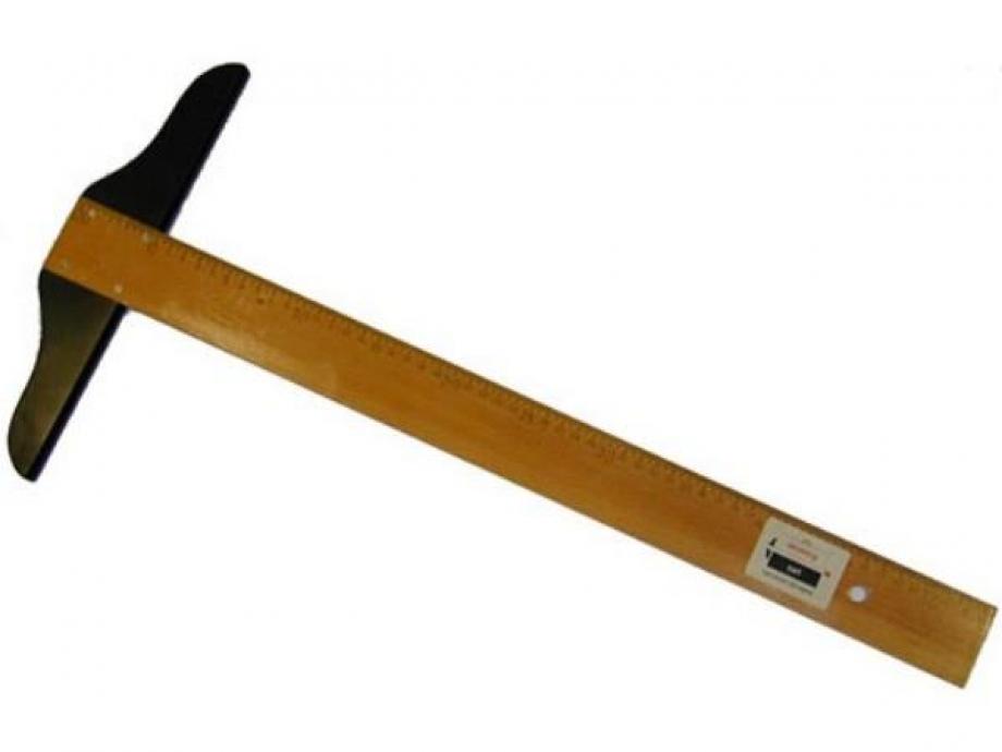 Ταφ ξύλινο με αρίθμηση 80 cm