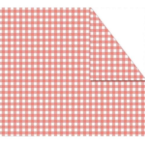Χαρτόνι καρό διπλής όψης 50x70 cm κόκκινο