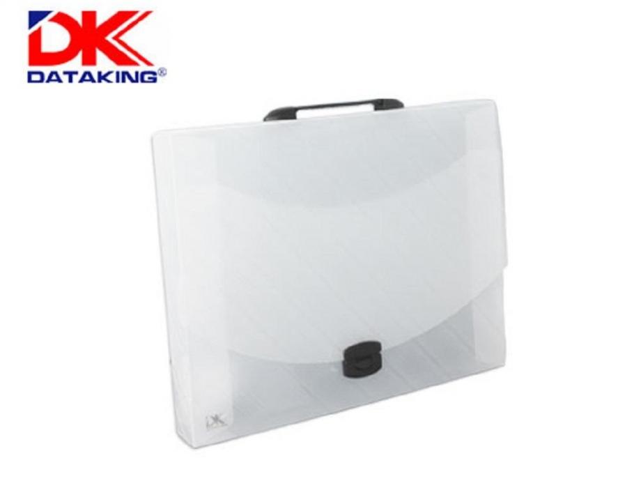 Τσάντα σχεδίου DK 33x45x5 διάφανη