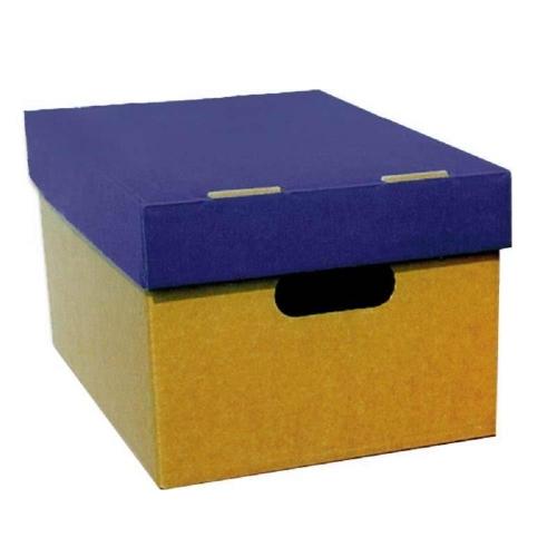 Κουτί αποθήκευσης Α4 4075 μπλε