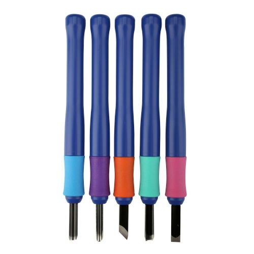Εργαλεία ξυλογλυπτικής λινόλεουμ Sakura 5 τεμ