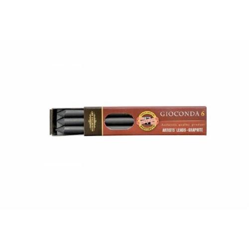 Μύτες μολυβιού 5,6 mm Kohinoor 8cm 4Β 6 τεμ.