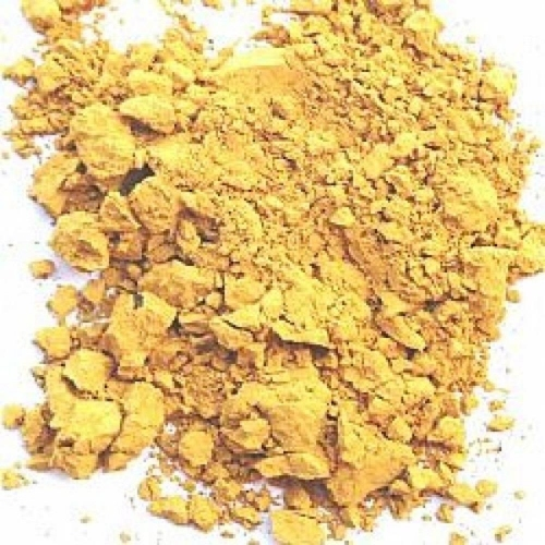 Σκόνη αγιογραφίας ώχρα χρυσή 100gr
