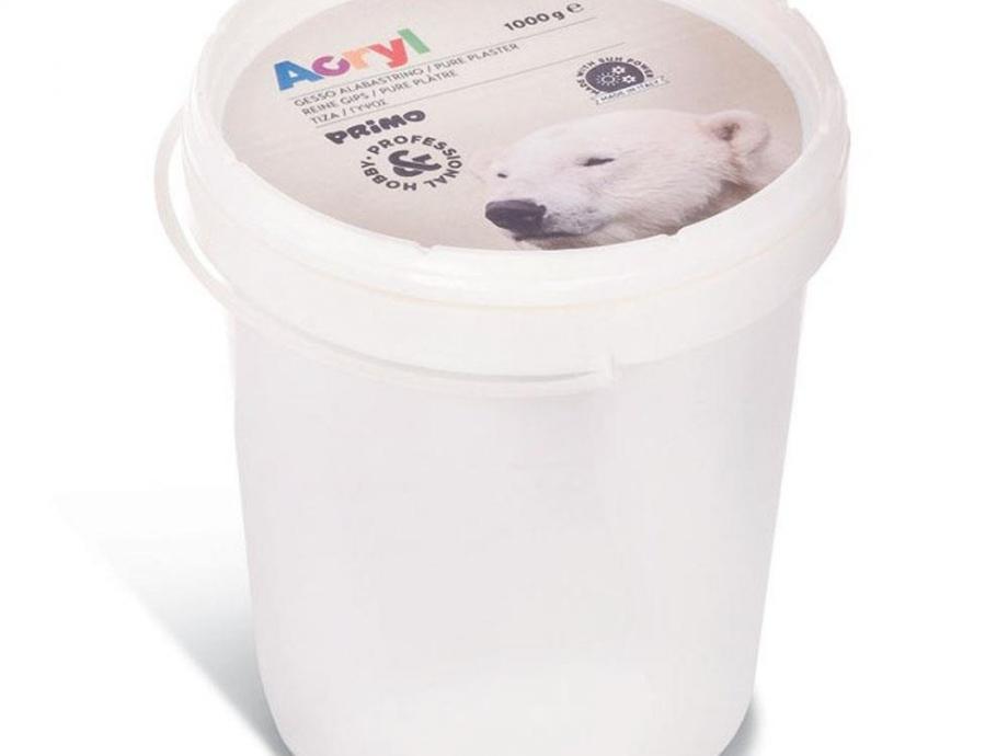 Γύψος Primo CMP 1 kg σε πλαστικό κουβά