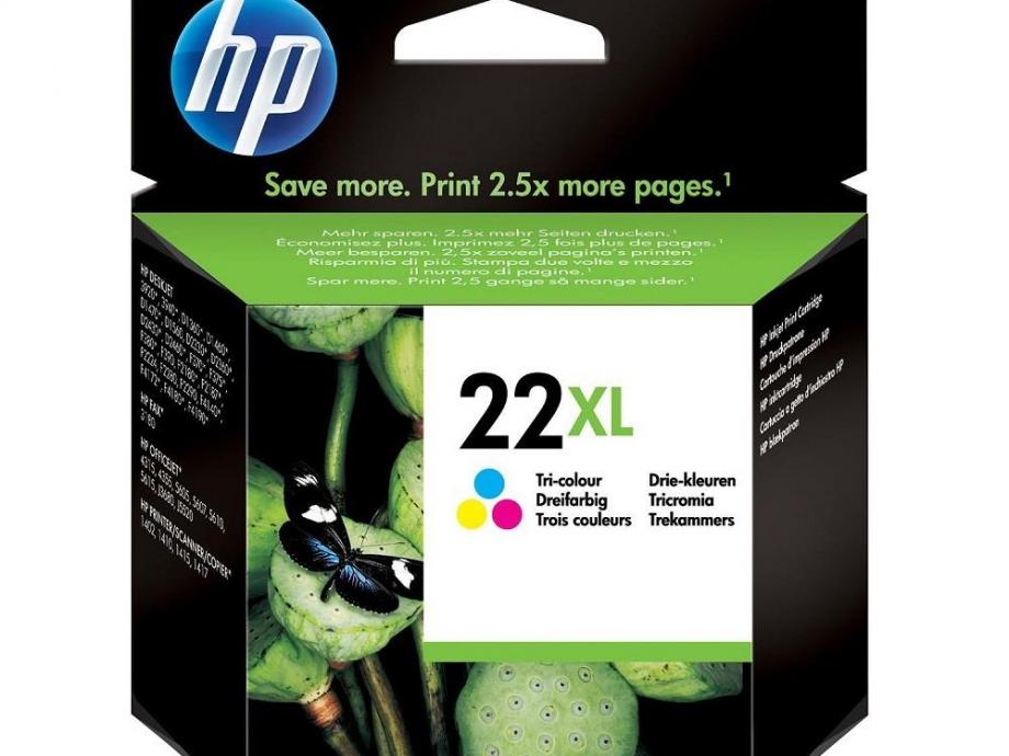 Μελάνι HP 22XL