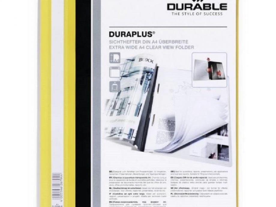 Ντοσιέ με έλασμα Duraplus 2579 κίτρινο