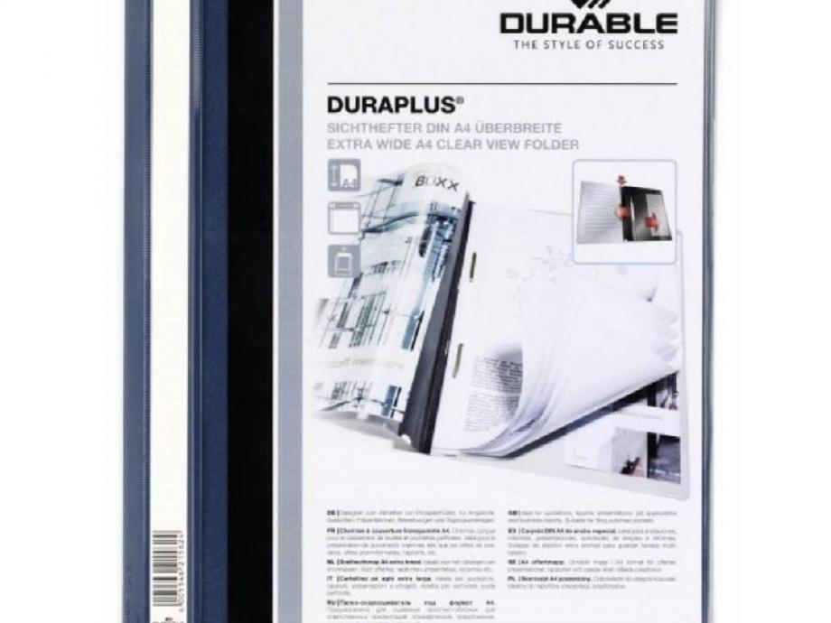 Ντοσιέ με έλασμα Duraplus 2579 μπλε σκούρο