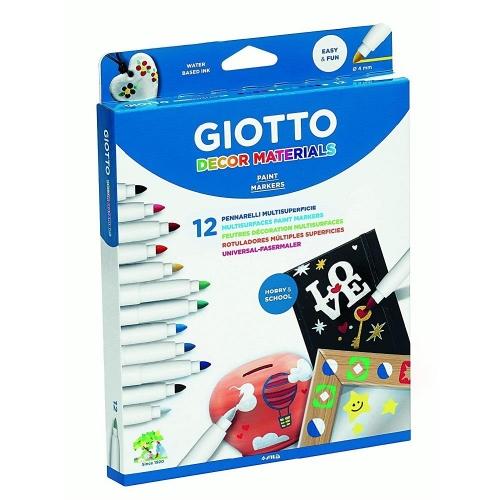Μαρκαδόροι Giotto decor materials 12 τεμ. 453400