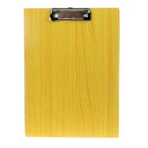 Ντοσιέ πιάστρα Α4 μονό ξύλινο