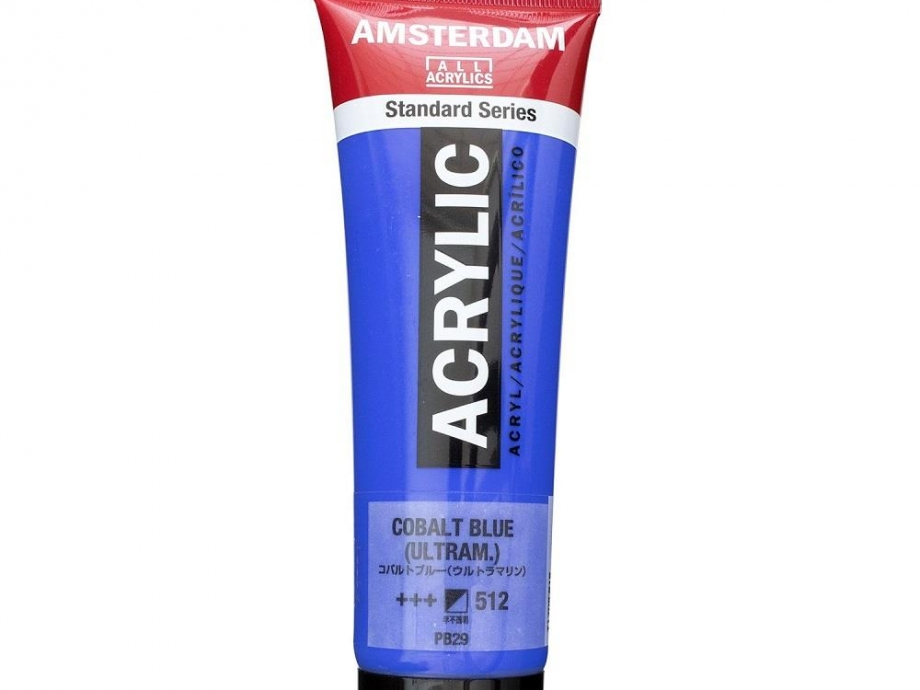 Ακρυλικό Amsterdam 120 ml 512 cobalt blue