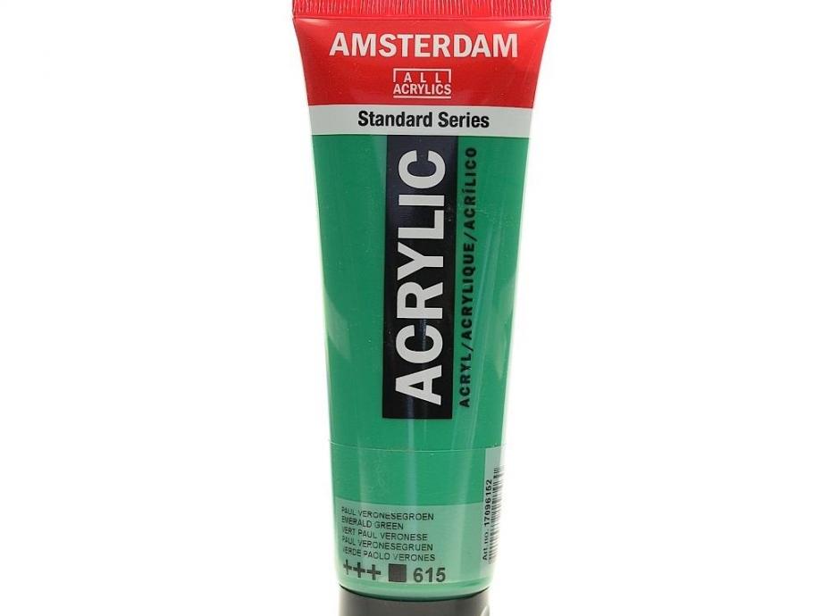 Ακρυλικό Amsterdam 120 ml 615 emerald green