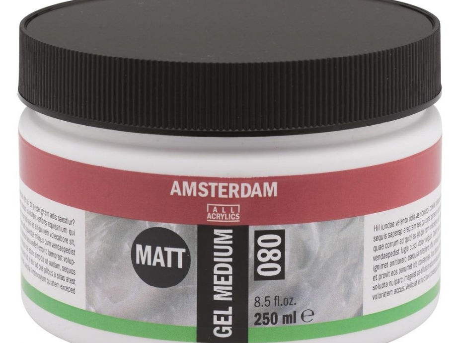 Gel medium Amsterdam 080 matt