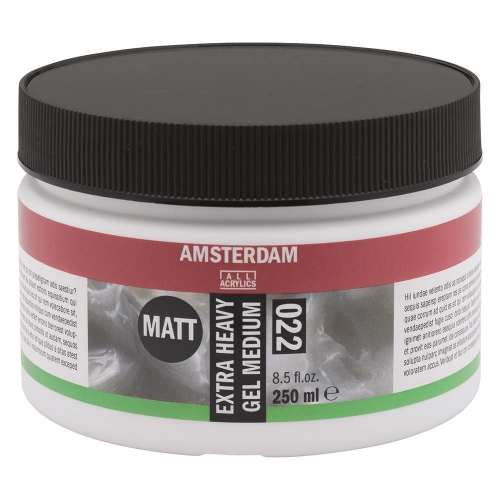 Gel medium Amsterdam 022 matt extra heavy