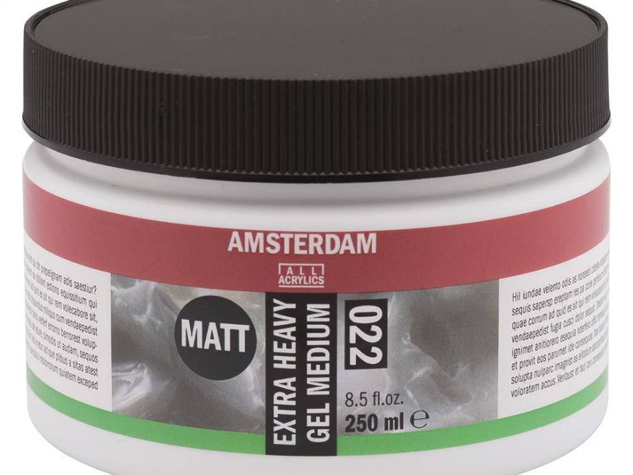 Gel medium Amsterdam 022 matt extra heavy