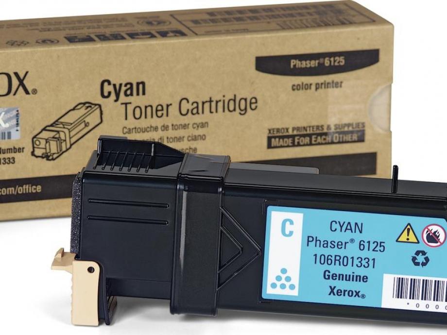 Toner Xerox Phaser 6125 cyan 106R01331