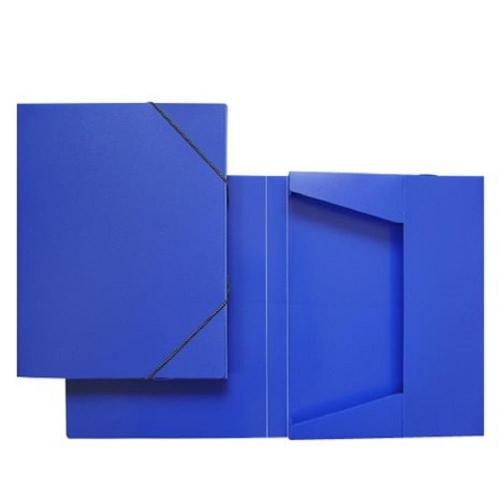 Κουτί λάστιχο 25x33x3 cm μπλε ματ