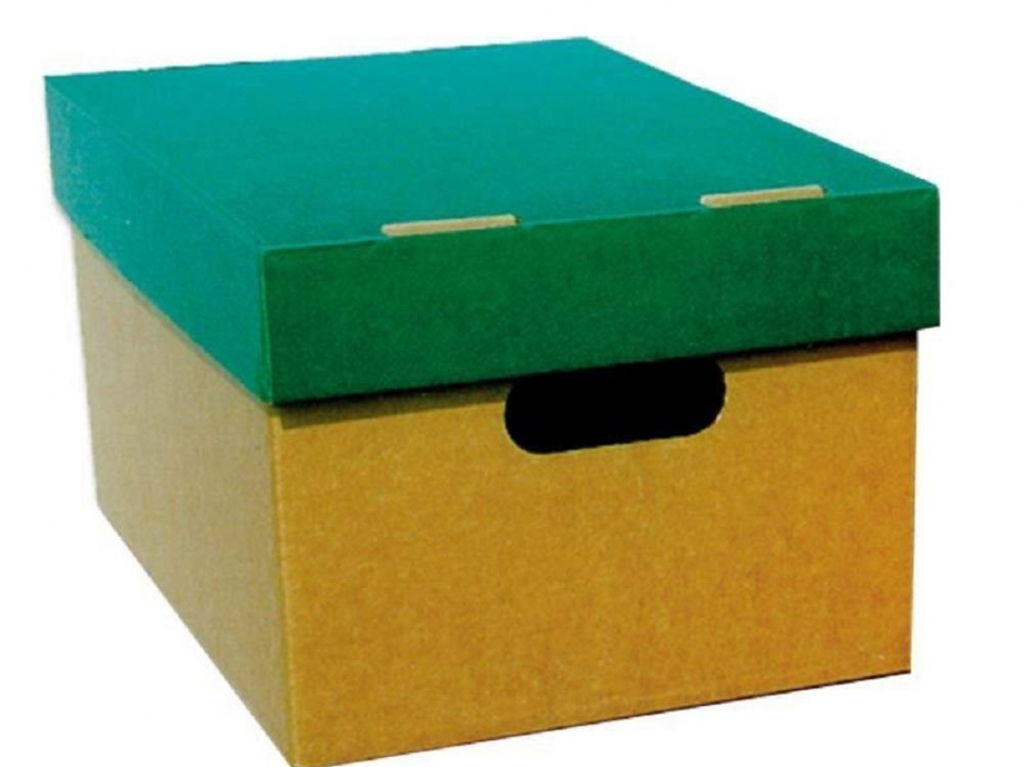 Κουτί αποθήκευσης Α3 4070 πράσινο
