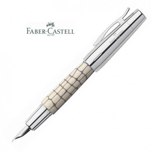 Πένα Faber e-motion croco ιβουάρ