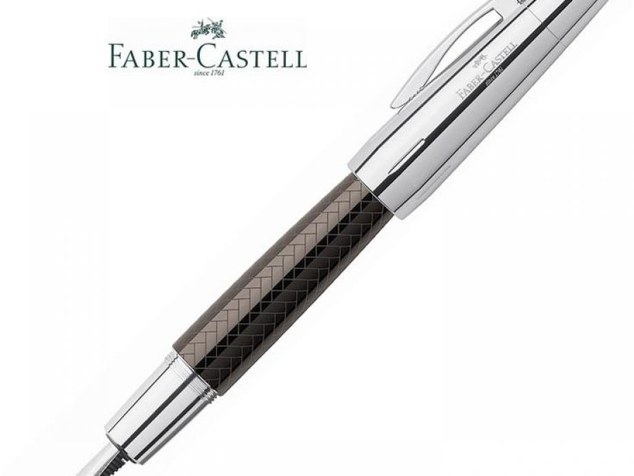 Πένα Faber e-motion parquet brown