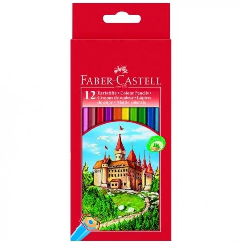 Ξυλομπογιές Faber 111212 κάστρο 12τεμ