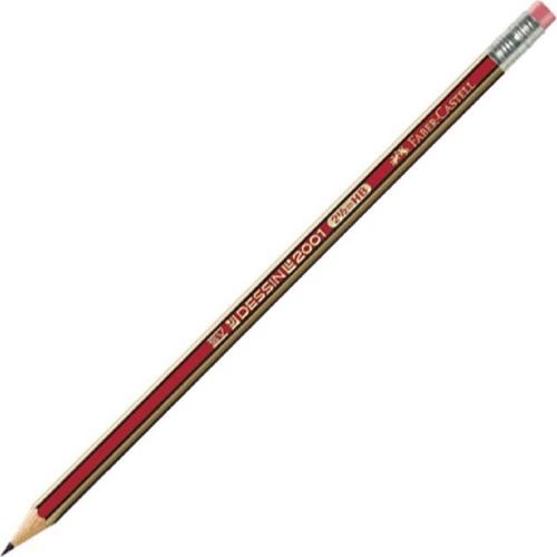 Μολύβι Faber Dessin 2001 ΗΒ με γόμα