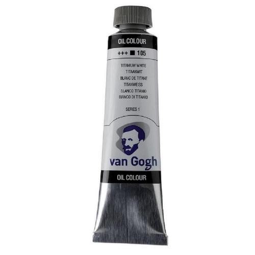 Λάδι Talens Van Gogh 20 ml 105 titanium white