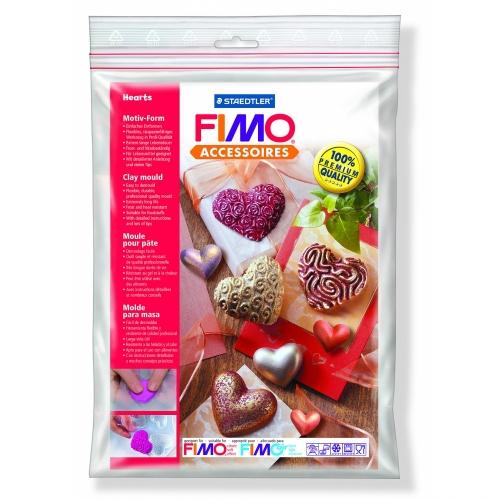 Καλούπι πηλού Fimo 8742-26 hearts
