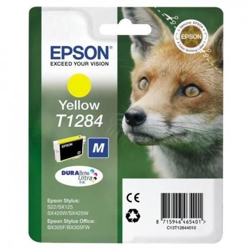 Μελάνι Epson T1284 yellow
