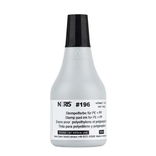 Μελάνι Noris 196 για πλαστικό μαύρο 50 ml