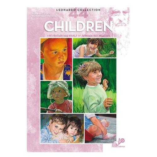Βιβλίο ζωγραφικής Leonardo 44 children