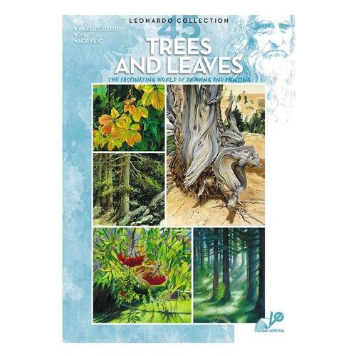 Βιβλίο ζωγραφικής Leonardo 45 trees and leaves